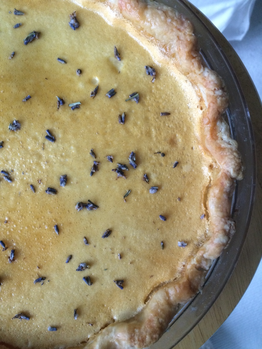 Lavender Honey Pie