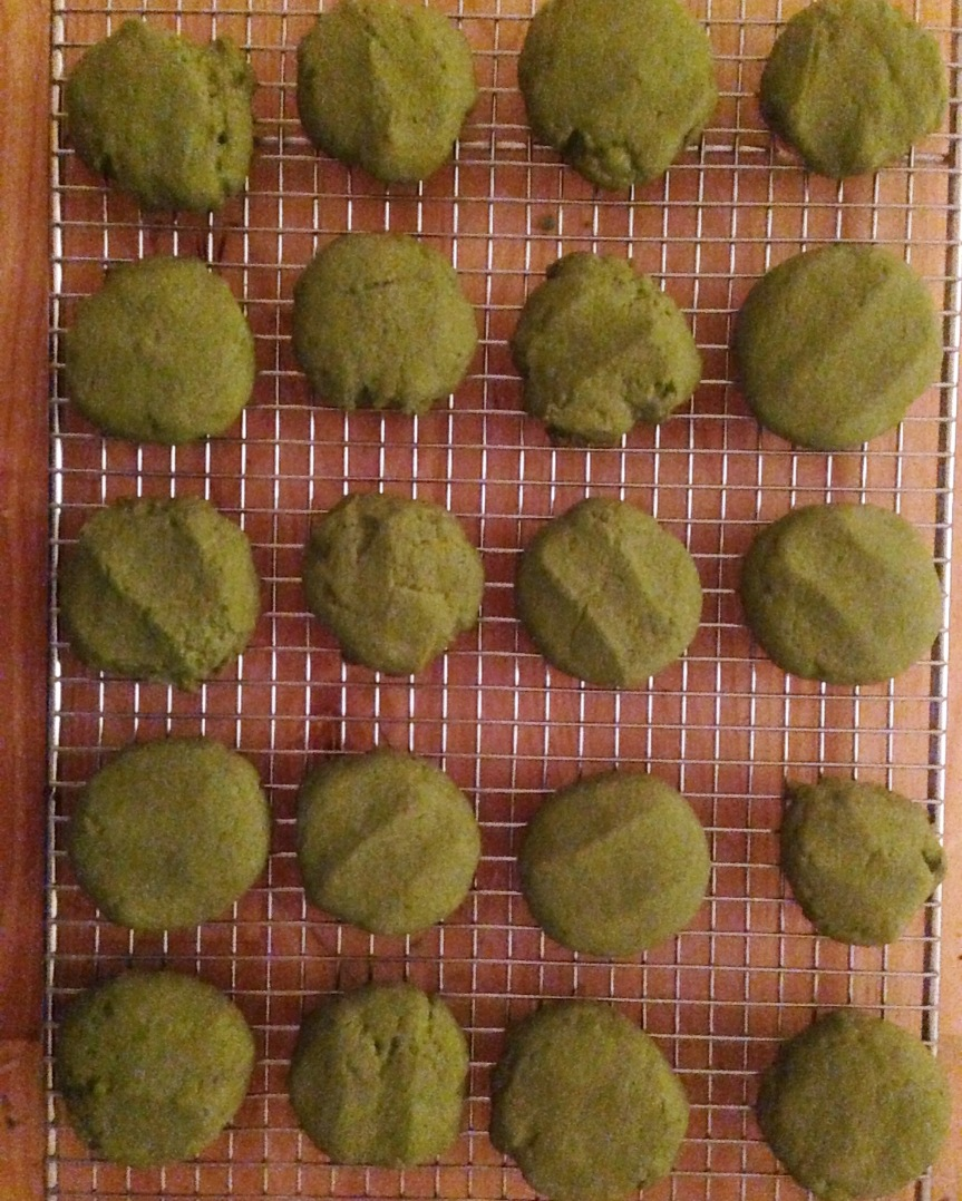 Mad for Matcha Cookies