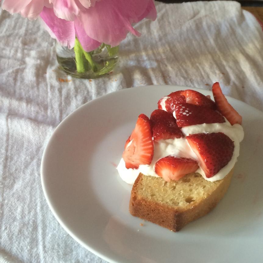 Summer Pound Cake