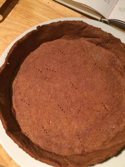 Cake pan version post-bake