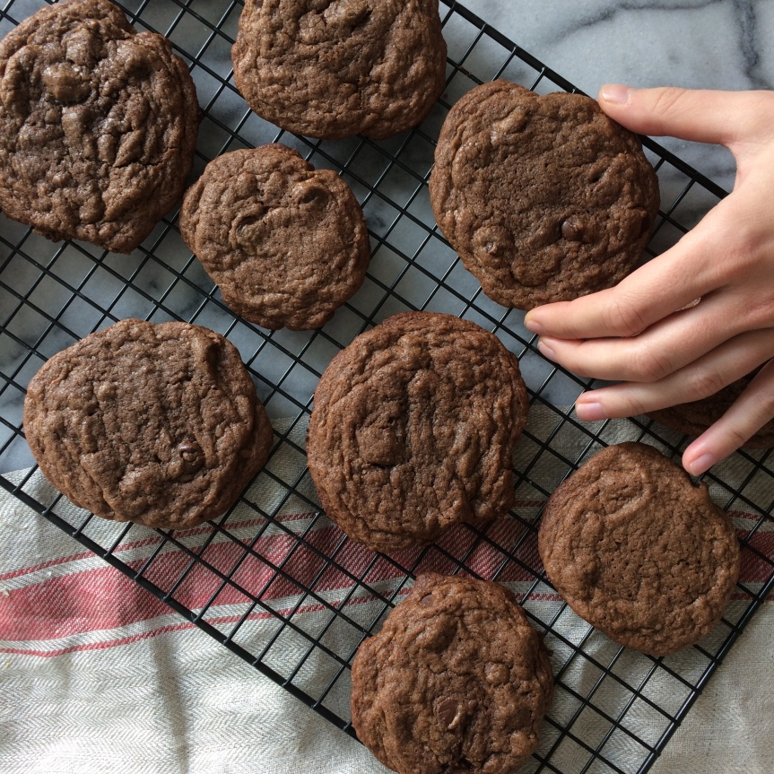 Mexican Chocolate Chili Cookies