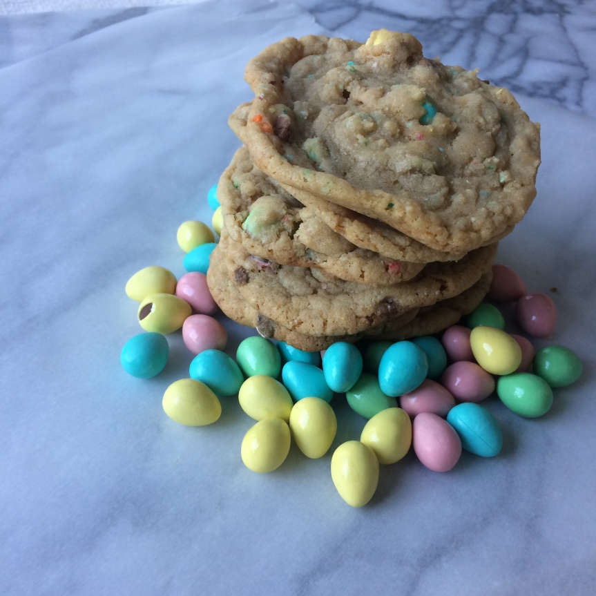 Funfetti Mini Egg Cookies
