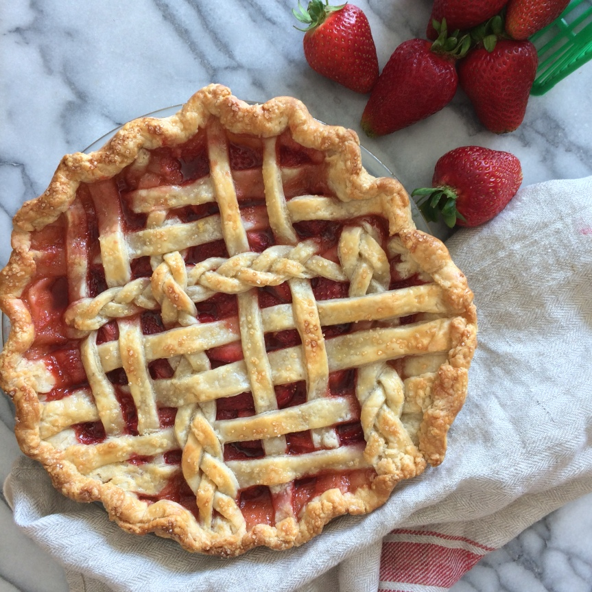 Strawberry Ginger Pie