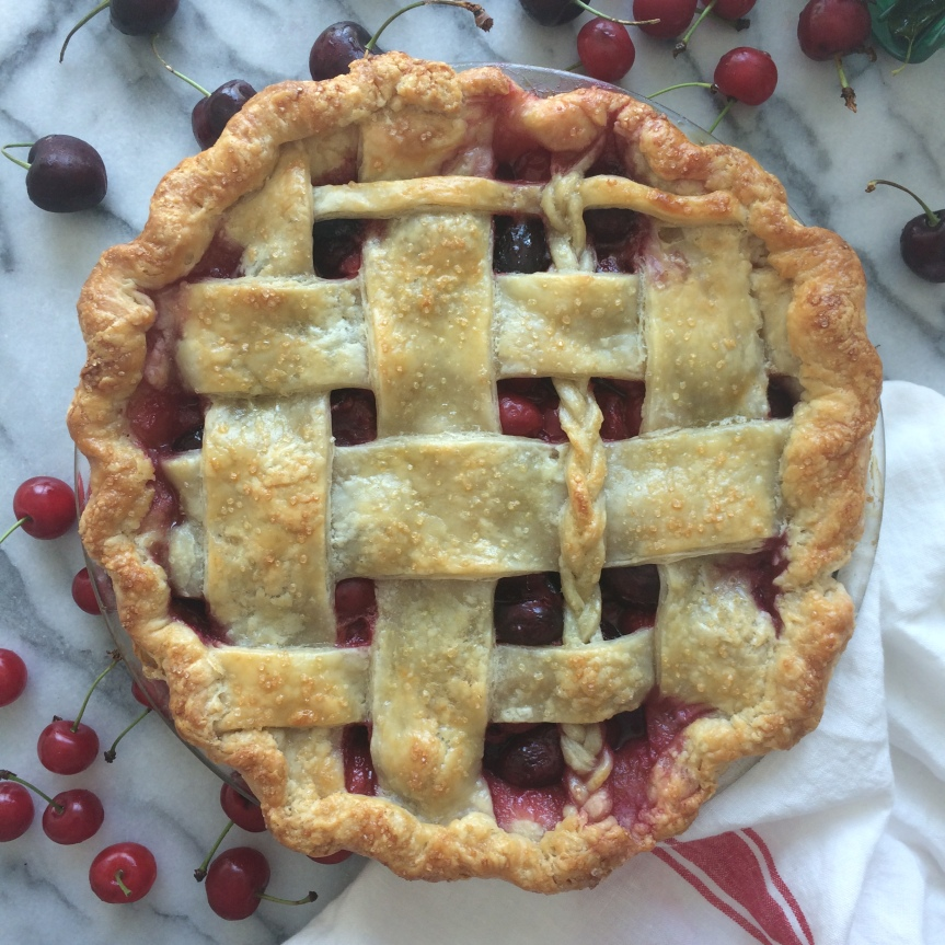 Sweet and Sour Cherry Pie