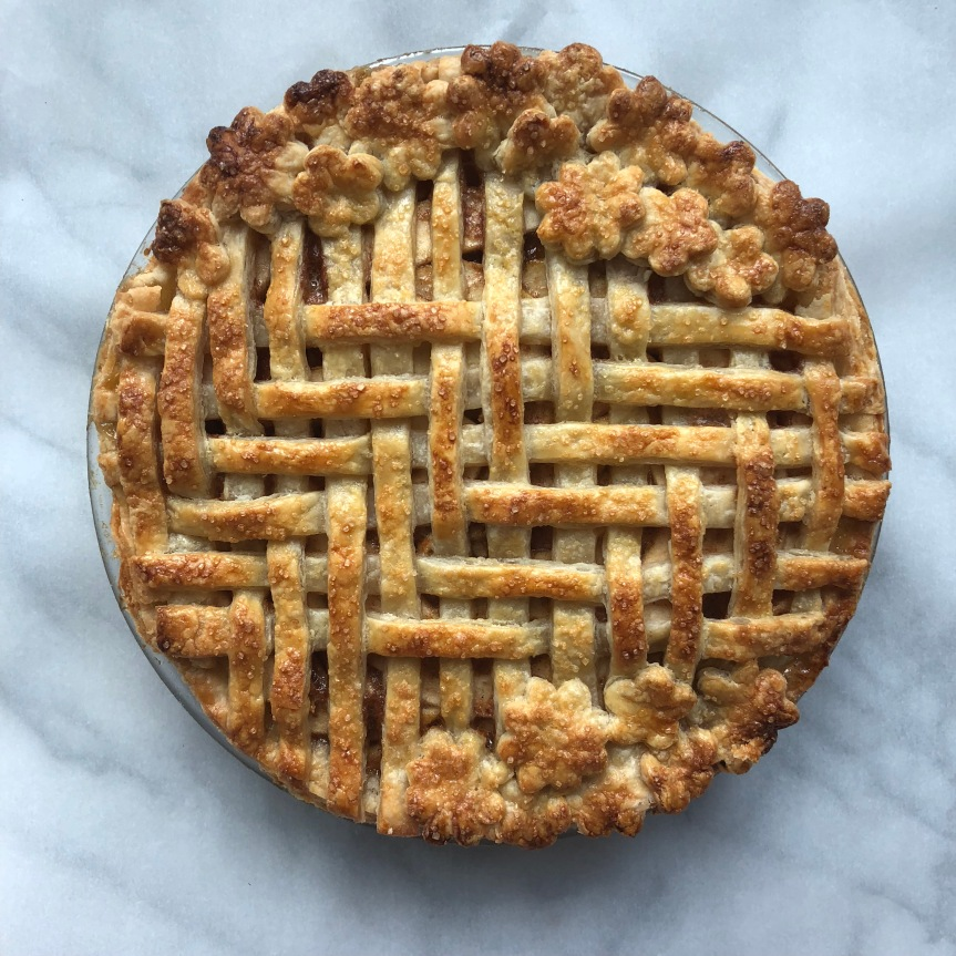 Brown Butter Apple and PearPie