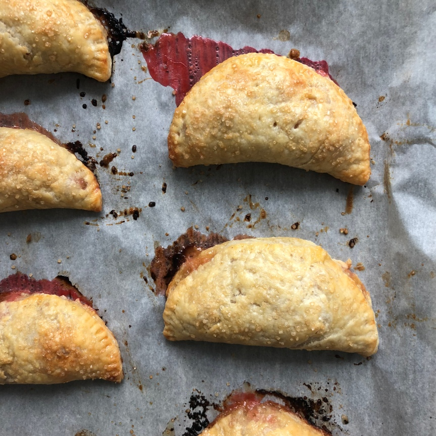 Five Spice Rhubarb Hand Pies