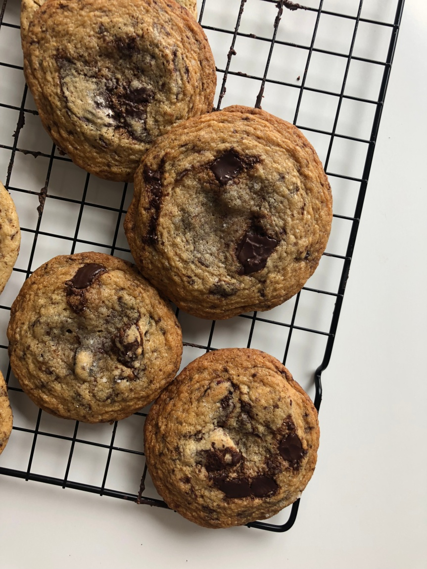 Dark Chocolate Chunk Cranberry Cookies